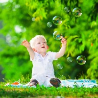 Свежий воздух и счастье - залог здоровья ребёнка