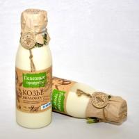 Козье молоко в винтажных бутылочках