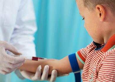 Увеличенное количество лимфоцитов в крови у ребенка
