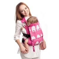 Малышка в розовом рюкзачке