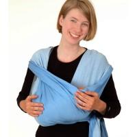 Голубой слинг-шарф