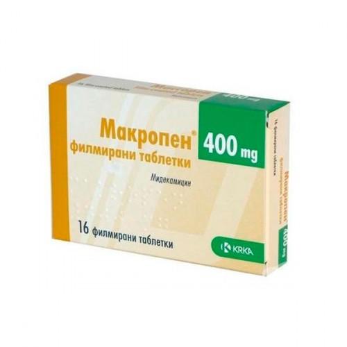 макропен простатита