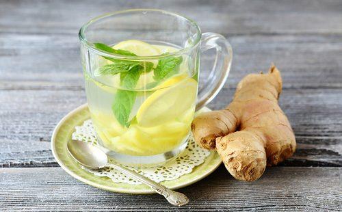 Чай с лимоном и имбрем